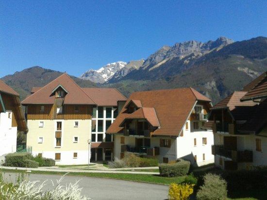 Résidence Le Birdie : Vista dos apartamentos