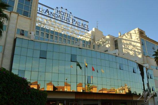 Silken Al-Andalus Palace Hotel : Fachada