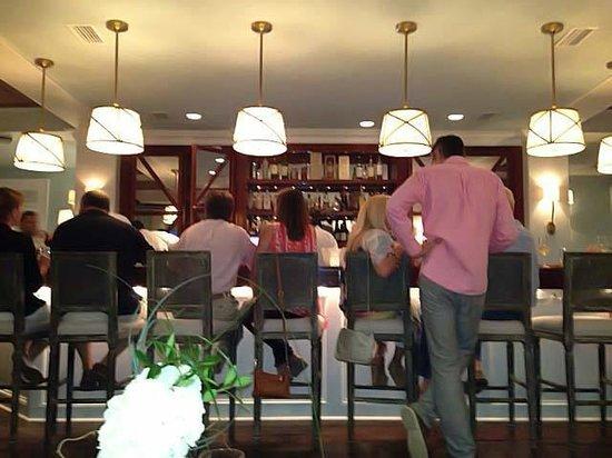 Fisher's at Orange Beach Marina: the bar at Fisher's