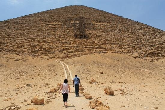 Dahshur : red pyramid