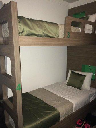Concept Design Hostel & Suites: comfy bunk beds