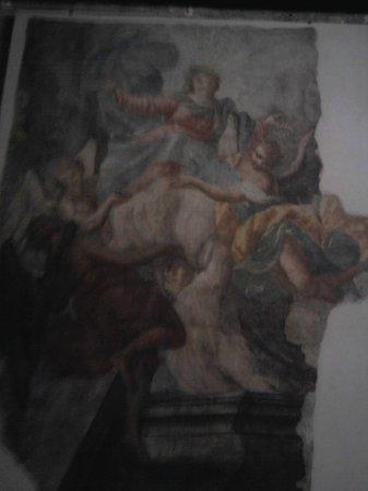 Basilica di Santa Giustina: Affresco interno