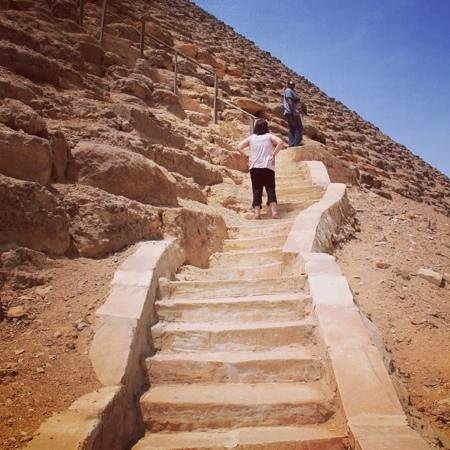 Real Egypt Day Tours : red pyramid