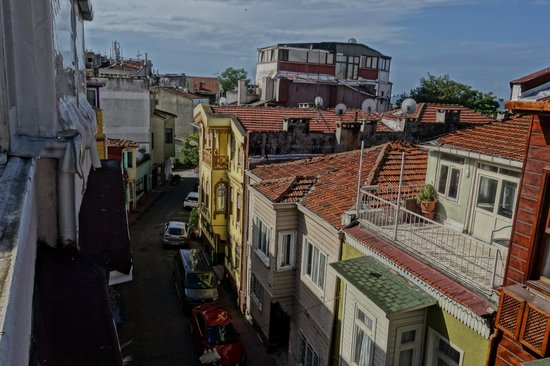 Sultans Hotel: View from rooftop terrace