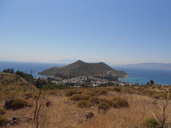Kefaluka Resort : on this semi-island