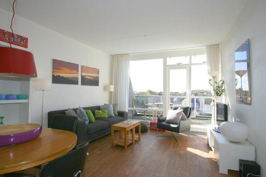 Woonkamer appartement 19D - Bild von Residence de L\'Europe ...
