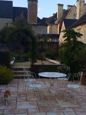 Hotel Particulier Poppa: Garden area