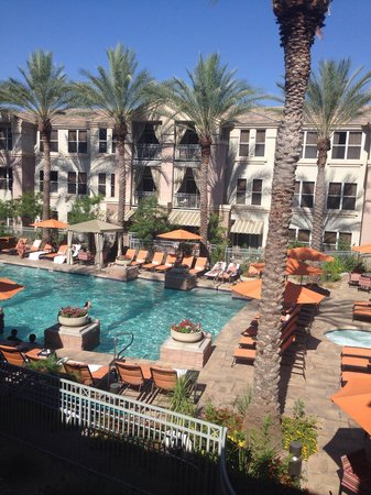 Gainey Suites Hotel : View from our room