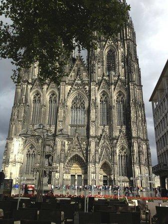 Cafe Reichard: Blick auf den Dom