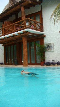 Holbox Hotel Casa las Tortugas - Petit Beach Hotel & Spa: La alberca