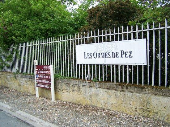 Chateau Ormes de Pez: Easy to find.
