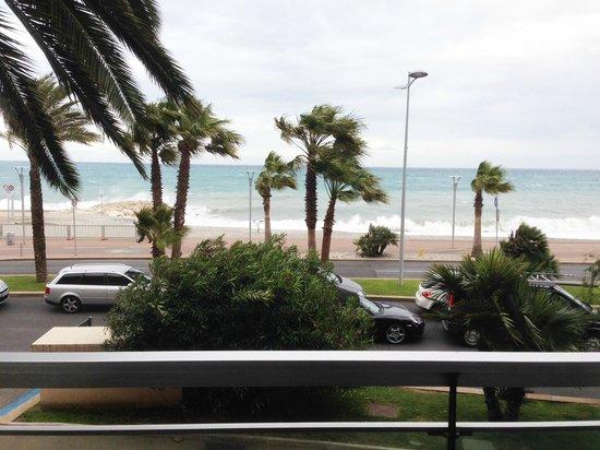 Tiercé Beach Hôtel : View from balcony.