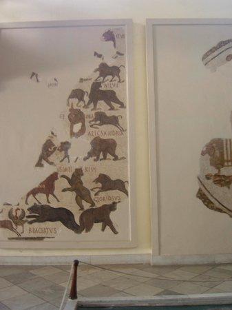 Musée National du Bardo : Mosaico
