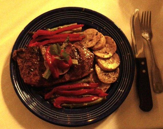 Cafe Alcazar : Alcazar's grilled steak