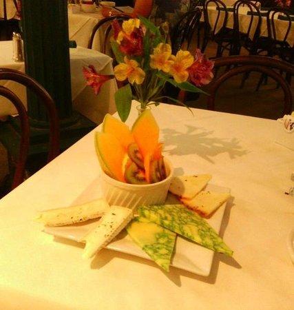 Cafe Alcazar : Alcazar's cheese plate