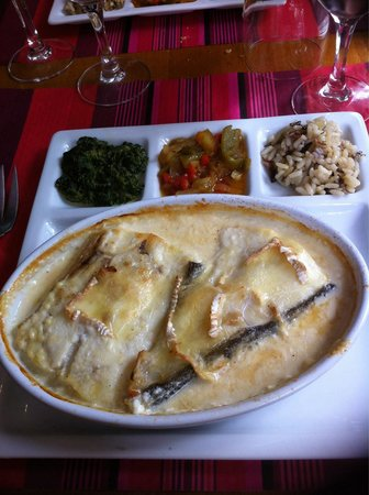 Le Bistrot d'a Côté : Carrelet au camembert