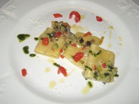 Maso Palu': Paccheri alle verdure