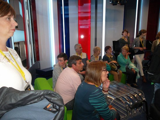 BBC Broadcasting House: This is the (very small) studio where they film The One Show.