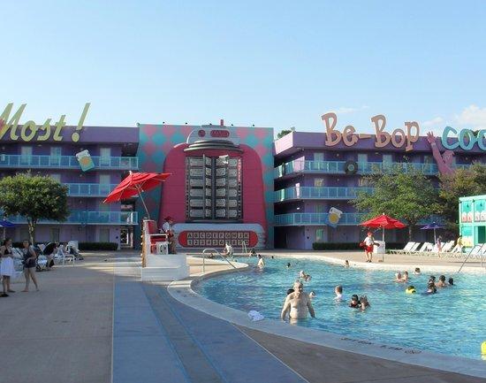 Disney's Pop Century Resort: one of the pools.