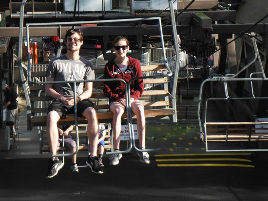 Knoebel's Amusement Resort : Skyride