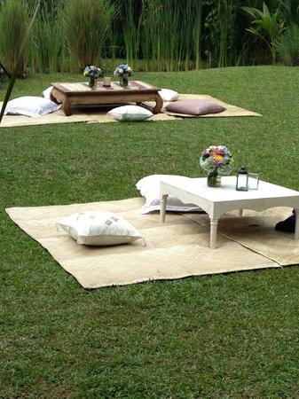 RedDoor Bali: Set up/decorations for the wedding