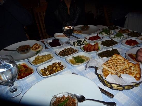 Giritli Istanbul: selezione di meze