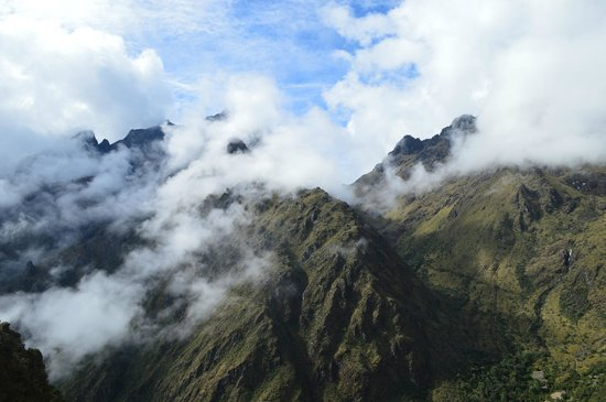 Camino Inca: above the cloud forest