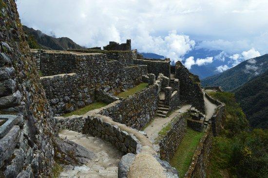 Camino Inca: inca site sayacmarca