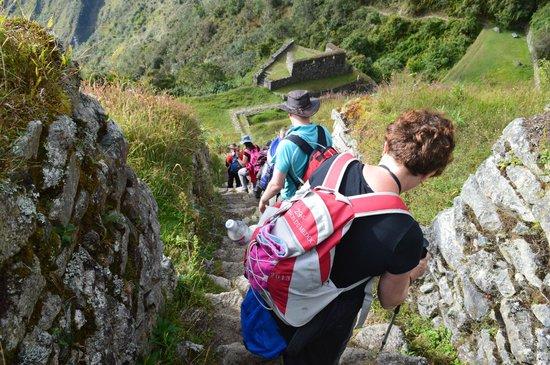 Camino Inca: slowly down