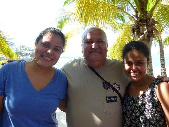 Fantasy Island Beach Resort: Con mis nietas