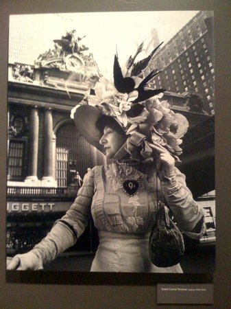New-York Historical Society Museum & Library: Ms. Sherman at Grand Central