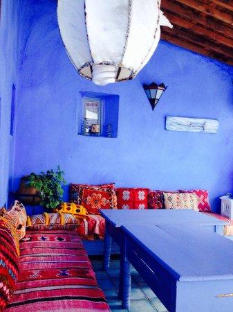 Casa Perleta: Terrasse