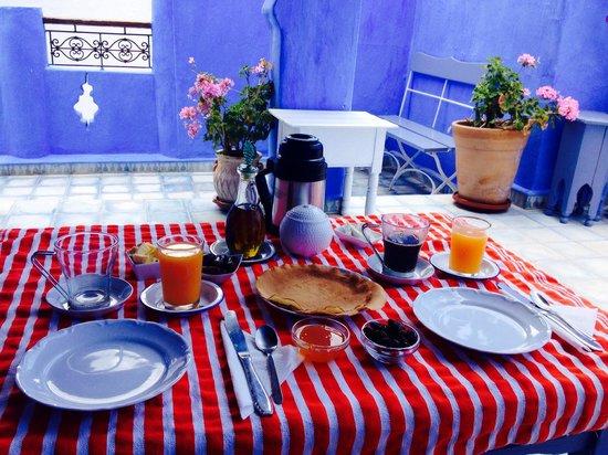 Casa Perleta : Le petit déj