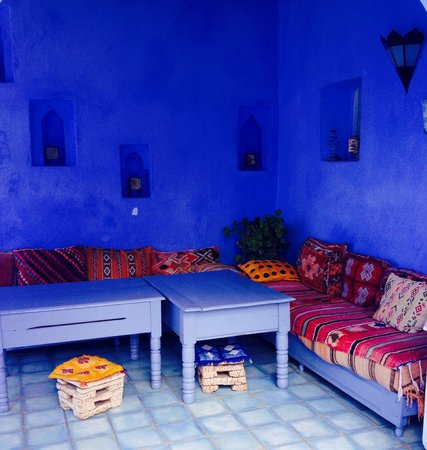 Casa Perleta: Le salon en terrasse