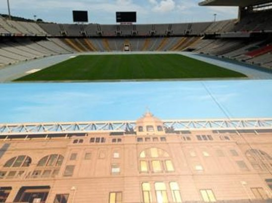 Estadi Olímpic: The stadium - inside