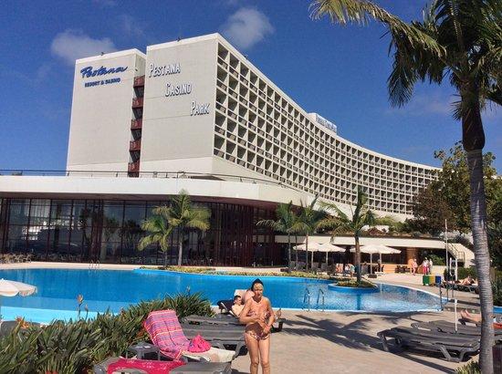 Pestana Casino Park Hotel : l'architecture du Pestana