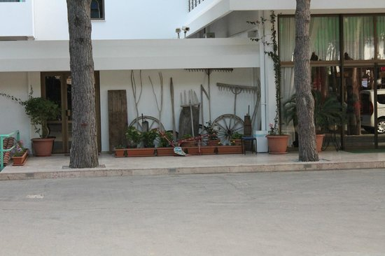 Grand Efe Hotel: the front view of the hotel