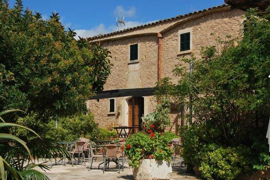 Sa Vall de Son Macia : Frühstücksterrasse