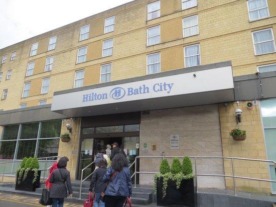 Hilton Bath City: Hotel exterior