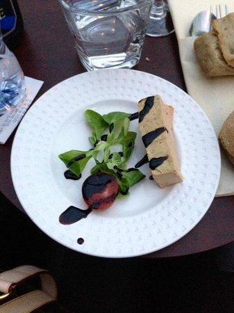 Paris en Scene - Diner croisiere: FOIS GRAS