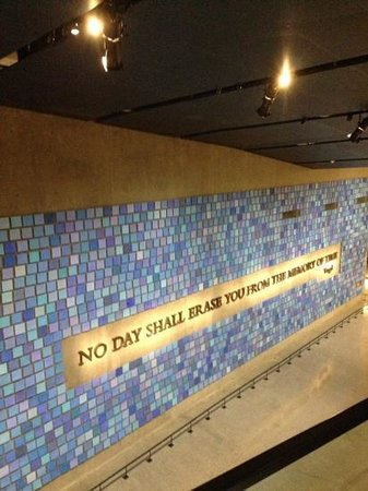 The National 9/11 Memorial & Museum: maggio 2014