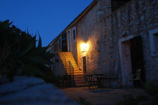 Sa Vall de Son Macia : Treppenaufgang zu oberen Appartements