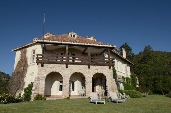 Castillo de Mandl: Terraza