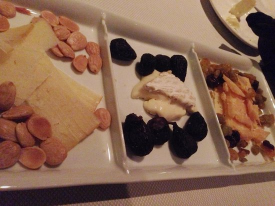 Old Hickory: Cheese plate. They have their own fromager.