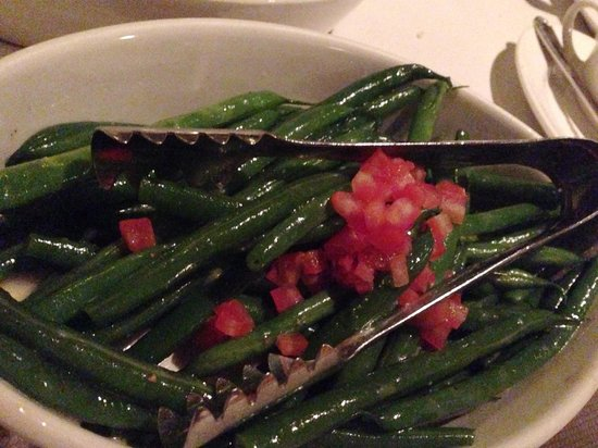 Old Hickory: Baby green beans