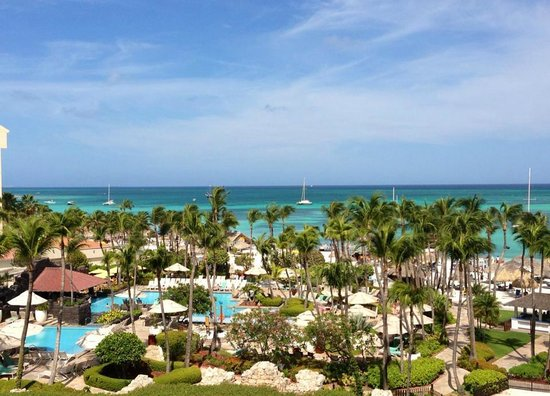 Hyatt Regency Aruba Resort and Casino: Unbelievably beautiful view from or room!