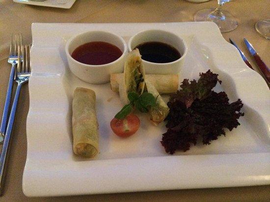 Sage Restaurant & Wine Bar : Spring roll starter!