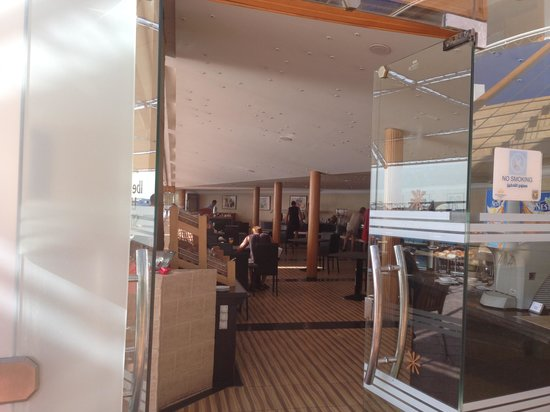 Lido Sharm Hotel: Indoor dining