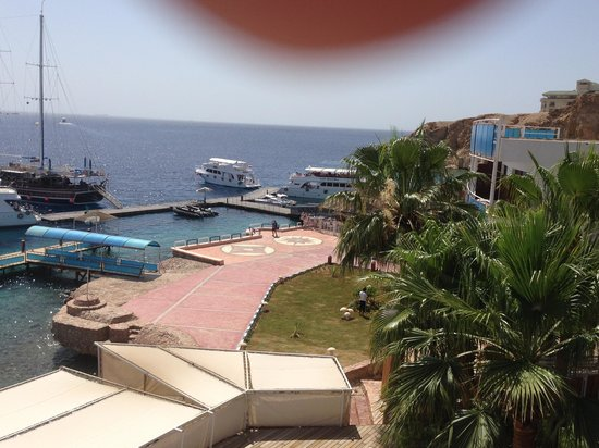 Lido Sharm Hotel: View from the pool