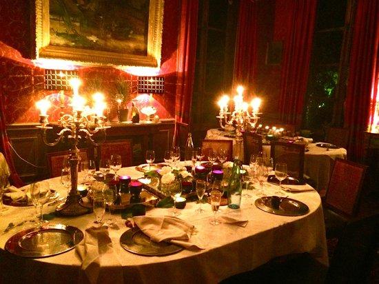 Chateau de Saint Paterne : The Dining Room